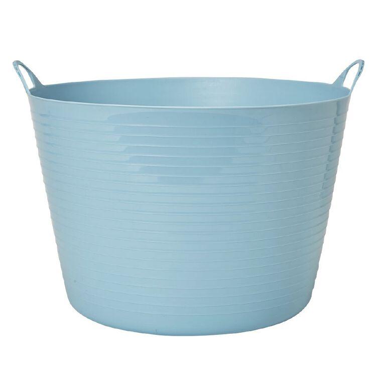 Living & Co Round Flexi Tub Blue 60L, , hi-res