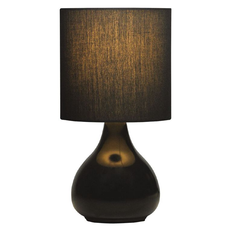 Living & Co Juno Lamp Black, , hi-res