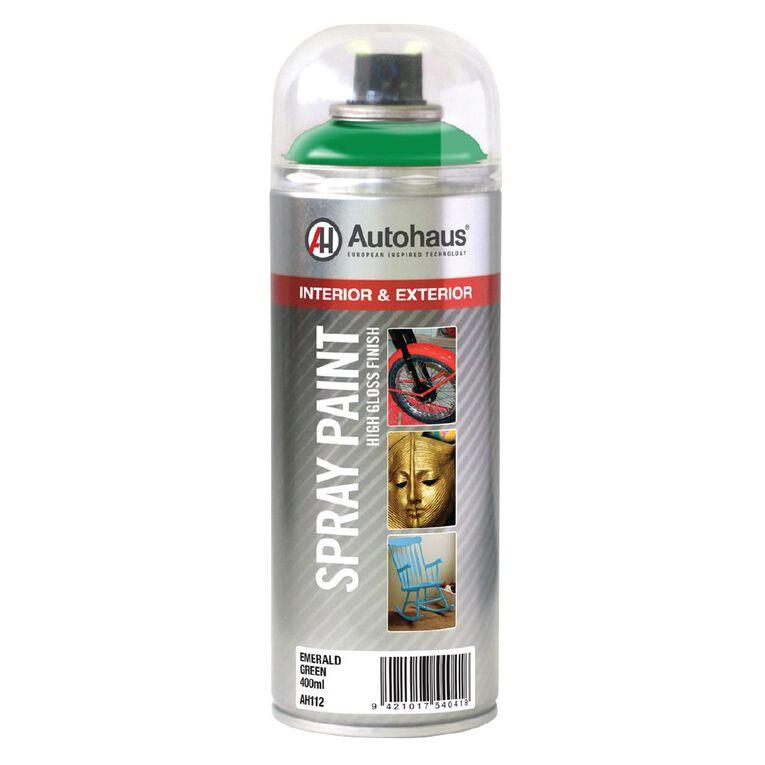Autohaus Spray Paint Emerald Green 400ml, , hi-res