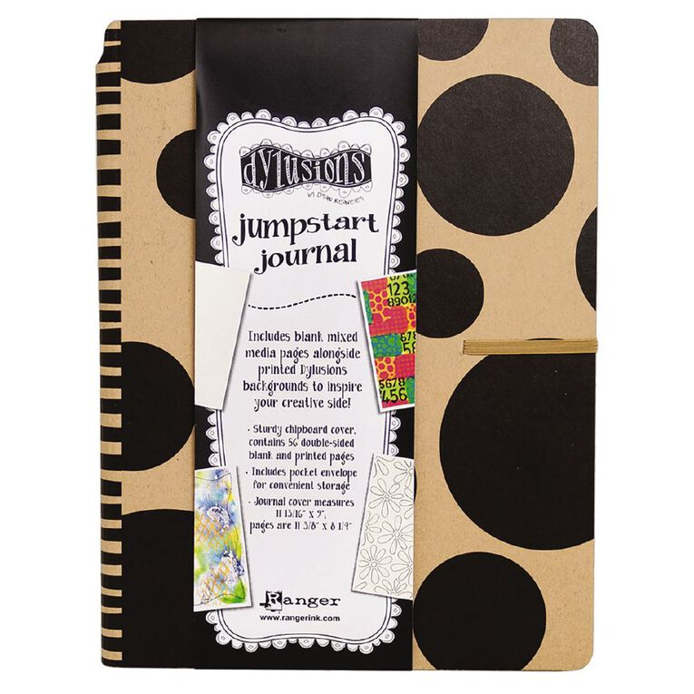Ranger Dylusions Journals Large Jumpstart, , hi-res
