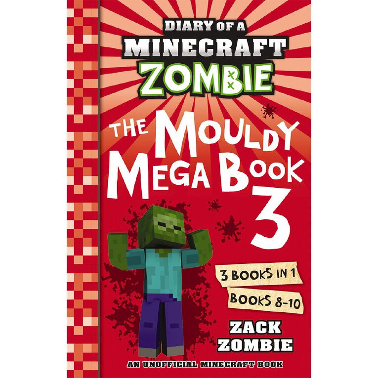Minecraft Zombie: The Mouldy Mega Book #3 by Zack Zombie, , hi-res