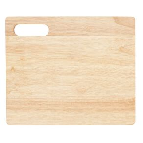 Living & Co Rubber Wood Chopping Board 33cm