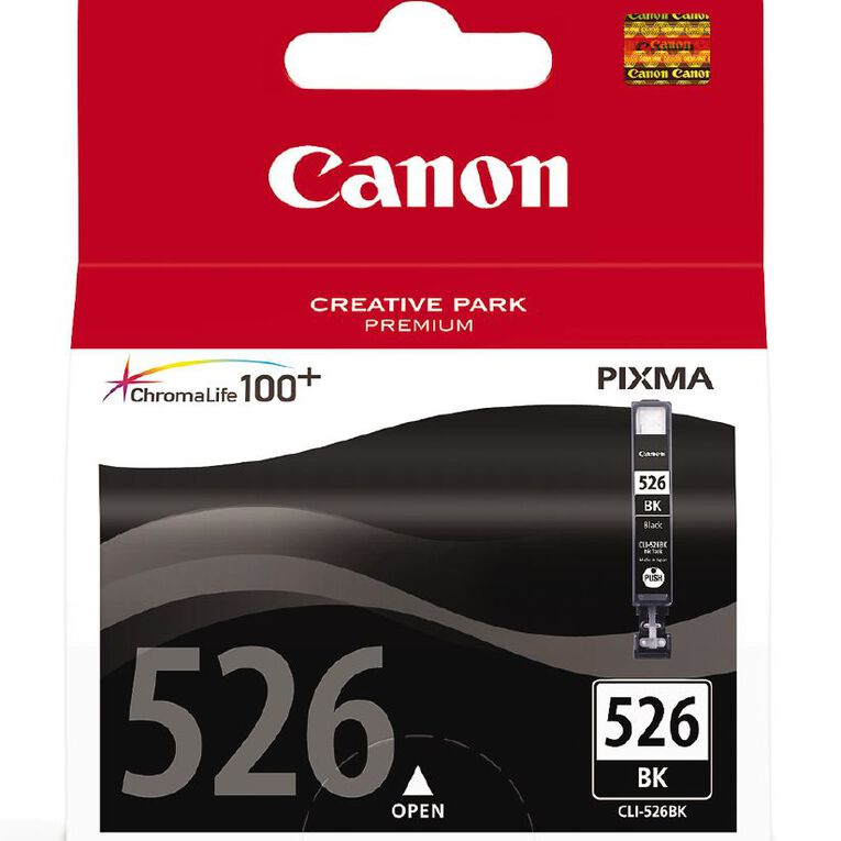 Canon Ink CLI526 Photo Black (500 Pages), , hi-res