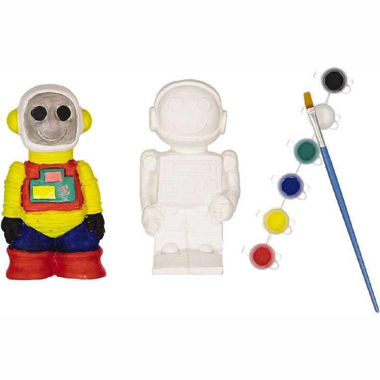 Kookie Paint Your Own Robots 2 pack Assorted, , hi-res