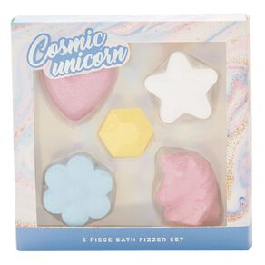 Bath Fizzer Cosmic Unicorn 5 Piece Set