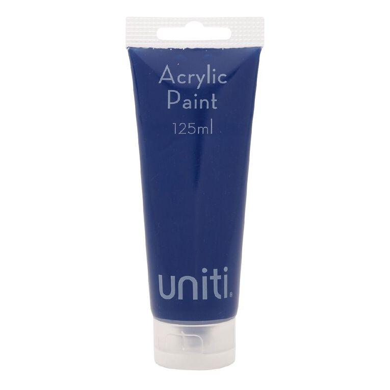 Uniti Acrylic Tube Blue 125ml, , hi-res