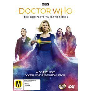 Doctor Who (2020) Season 12 DVD 5Disc