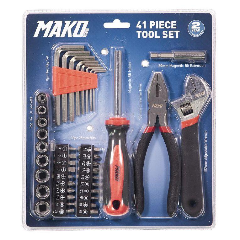 Mako 41 Piece Tool Set, , hi-res