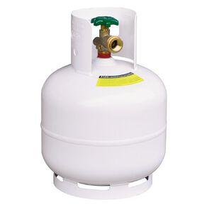 Gas Cylinder LPG 4kg White