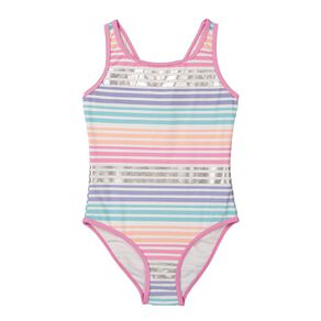 Young Original Girls' All Over Print Swimsuit