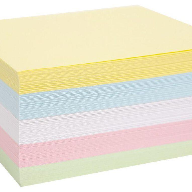 WS Memo Cube Refill Half Size, , hi-res
