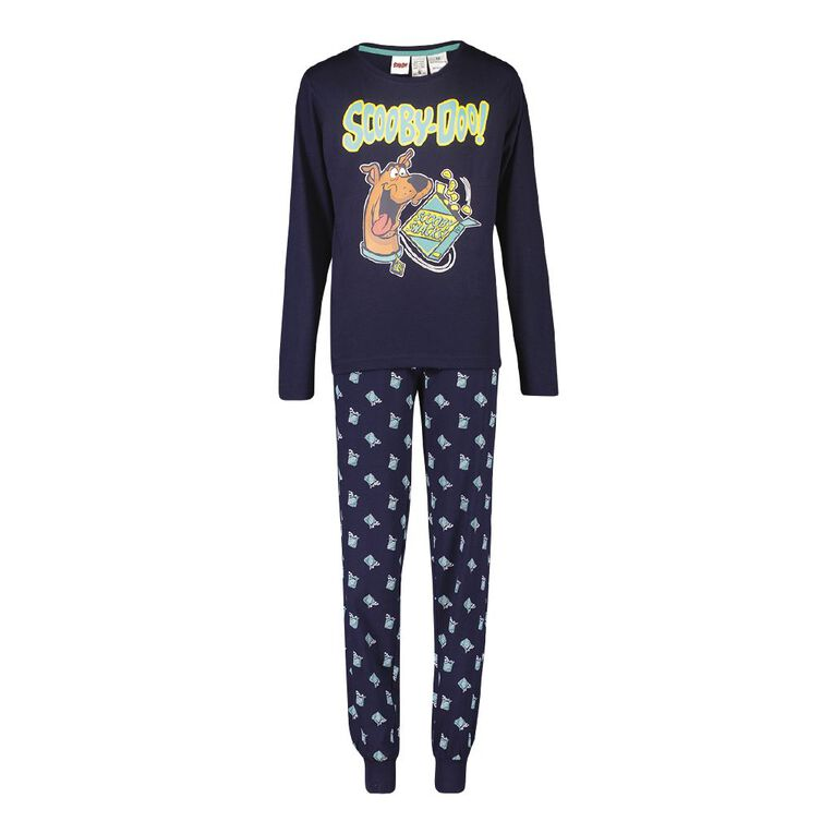 Scooby Doo Kids' Pyjamas, Blue, hi-res