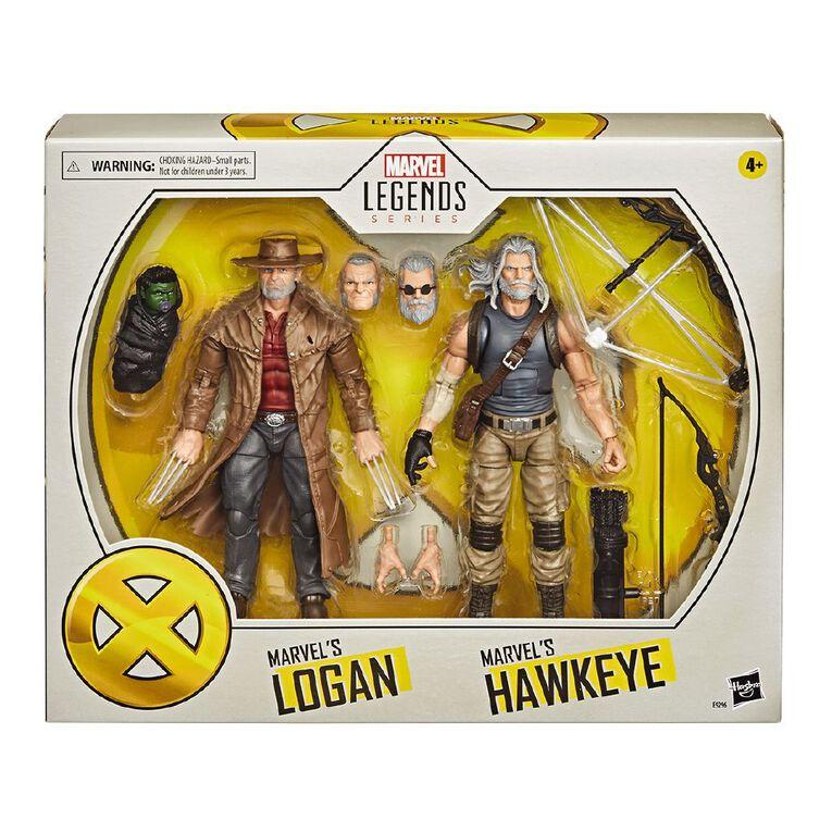 Marvel Legends X-Men Hawkeye and Logan, , hi-res image number null