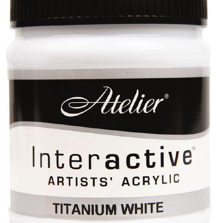 Atelier S1 250ml Titanium White White, , hi-res
