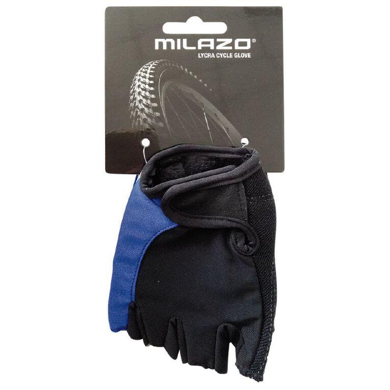 Milazo Lycra Cycle Glove Small Small, , hi-res