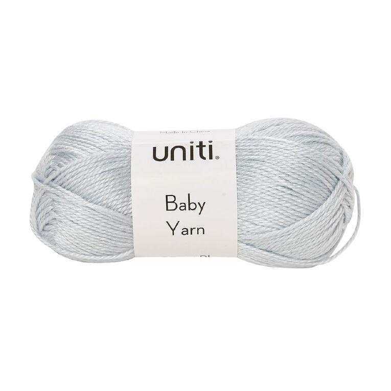Uniti Yarn Baby Acrylic 4 Ply Blue 50g, , hi-res