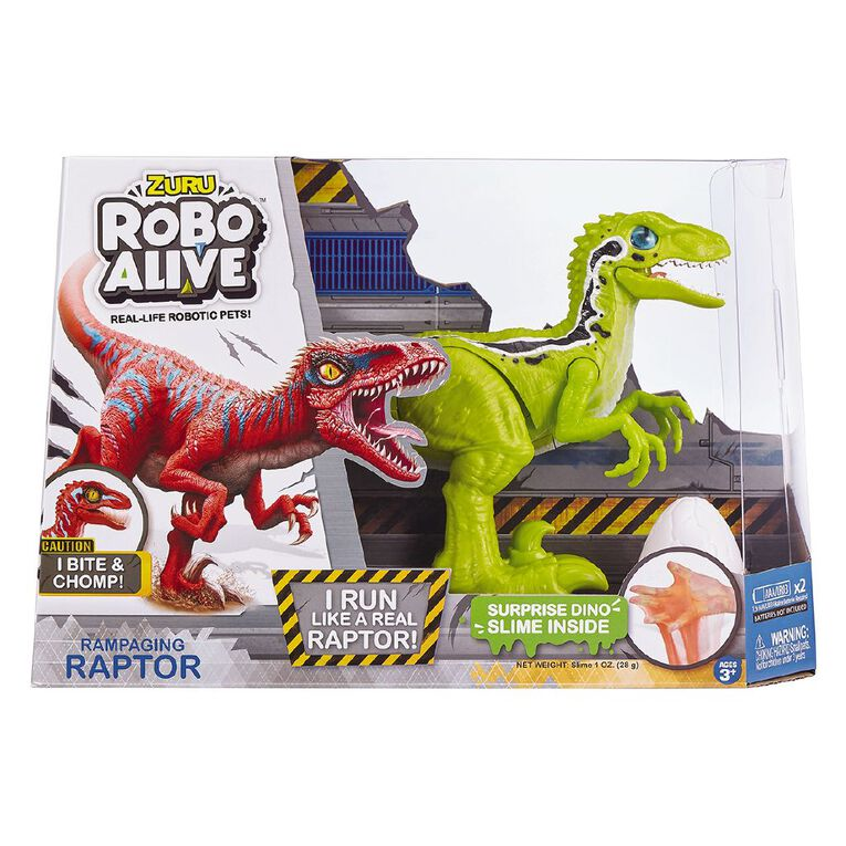 Zuru Robo Alive Raptor Assorted, , hi-res