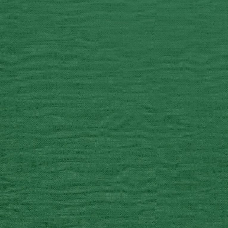 American Crafts Cardstock Textured Evergreen 12in x 12in, , hi-res image number null