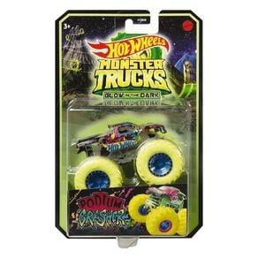 Hot Wheels Monster Trucks Glow in the Dark 1:64 Scale Assorted