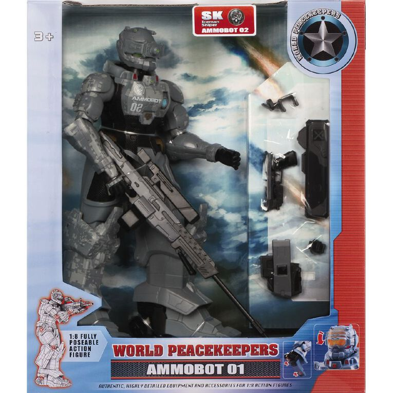 World Peacekeepers Ammobot Figure 10 inch Assorted, , hi-res