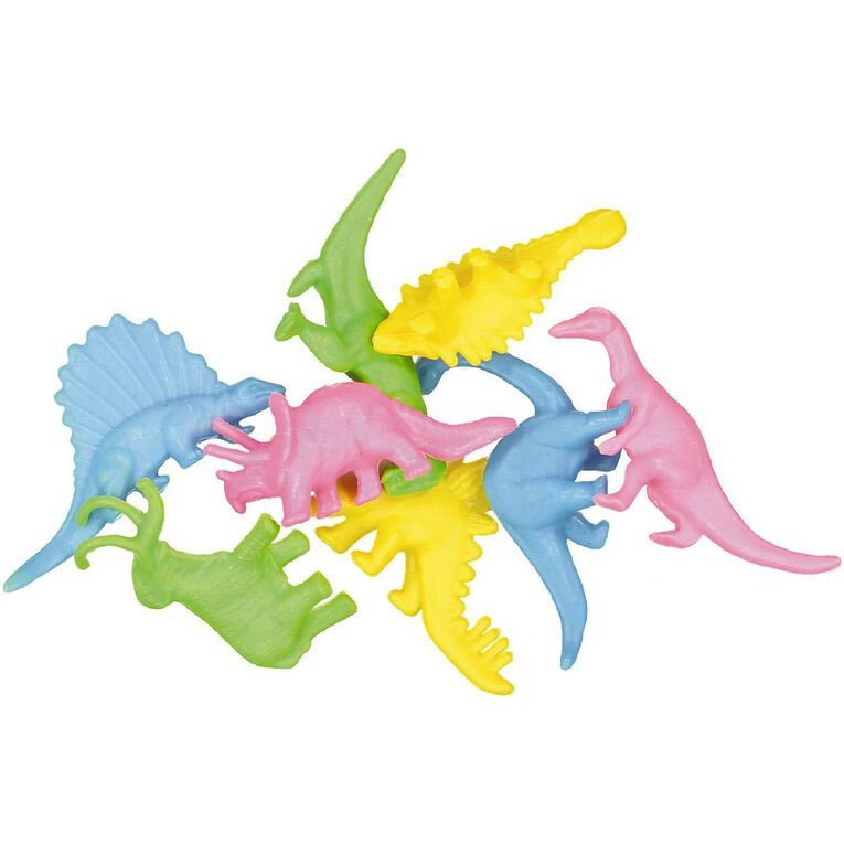 Party Inc Party Favours Dinosaur 8 Pack, , hi-res