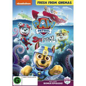 Paw Patrol Sea Patrol DVD 1Disc