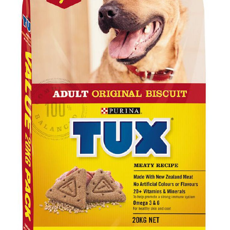 TUX Adult Original Meaty Dry Dog Food 20kg, , hi-res