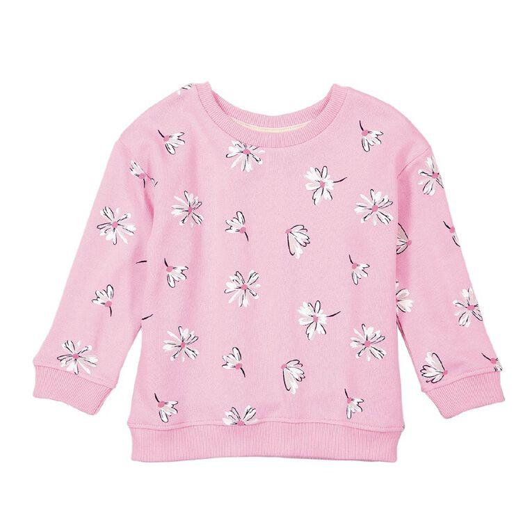 Young Original Toddler Drop Shoulder Sweatshirt, Pink Mid, hi-res
