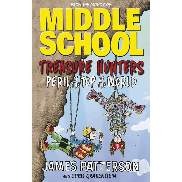 Treasure Hunters #4 Peril At The Top Of The World by James Patterson, , hi-res
