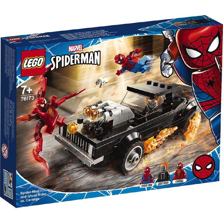 LEGO Marvel Super Heroes Spider-Man and Ghost Rider vs.Carnage 76173, , hi-res