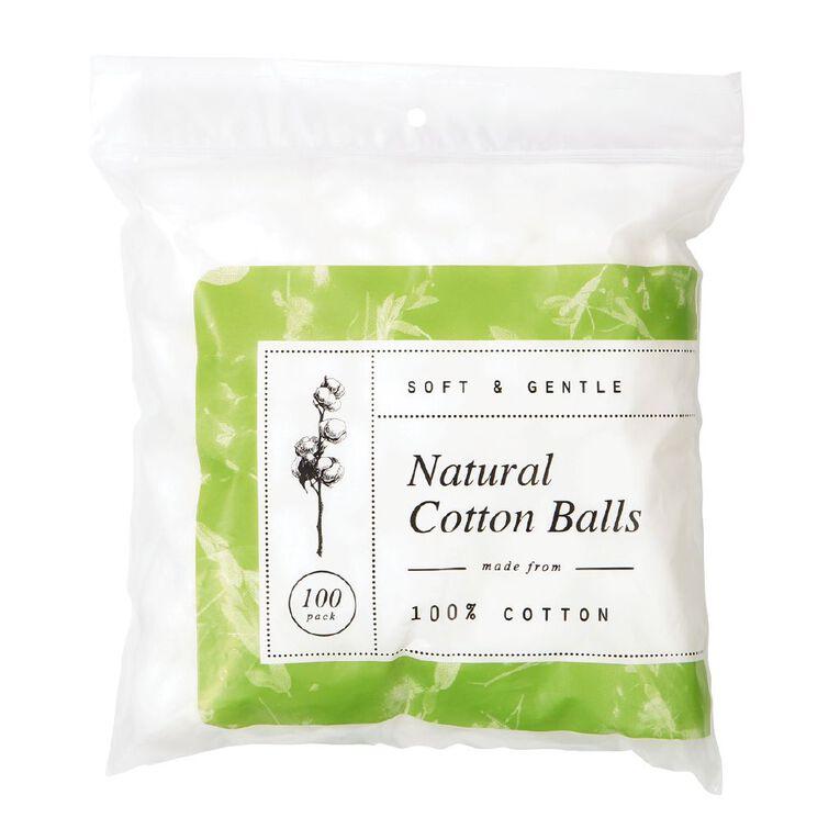 Cotton Balls 100 Pack, , hi-res