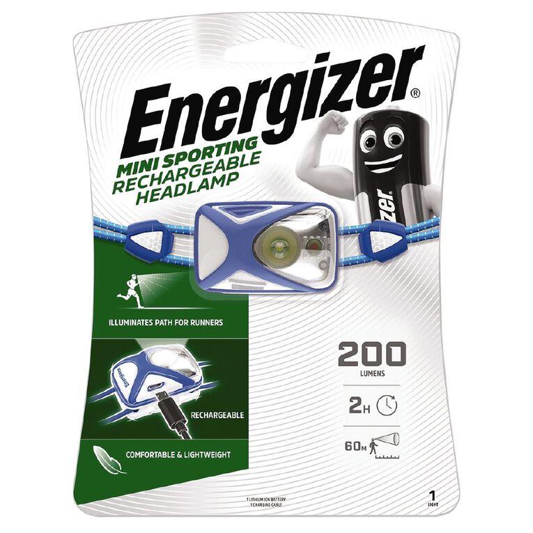 Energizer Recharge Sport Headlight 200 Lumens, , hi-res