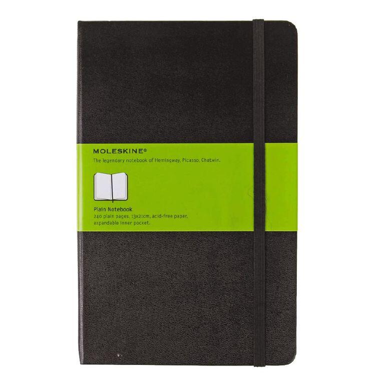 Moleskine Classic Hard Cover Large Notebook Unlined Black, , hi-res