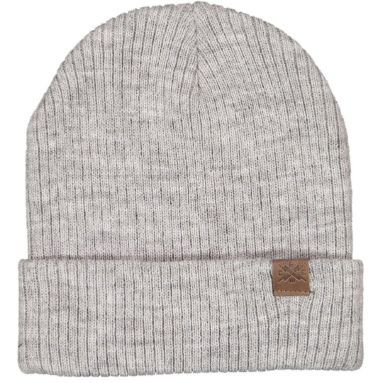 Young Original Rib Slouch Beanie, Grey Mid, hi-res image number null