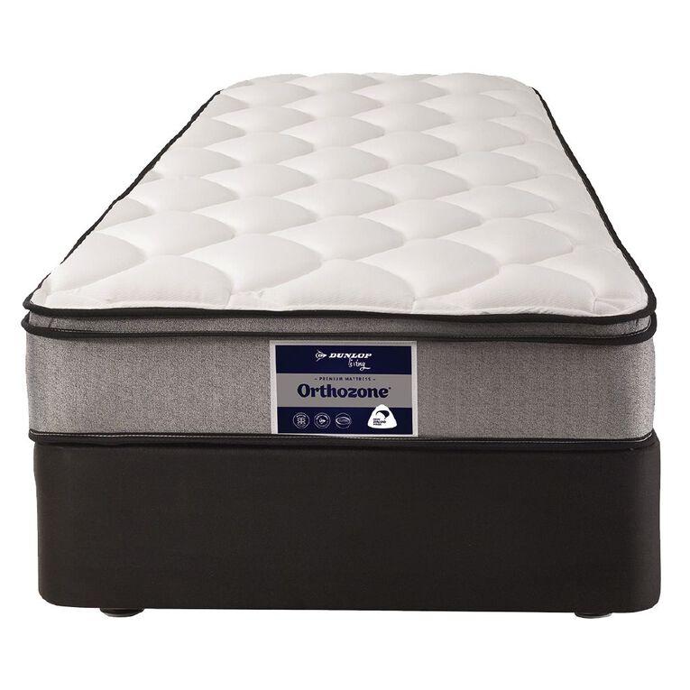 Dunlop Living Orthozone High Profile Base + Mattress King Single, , hi-res