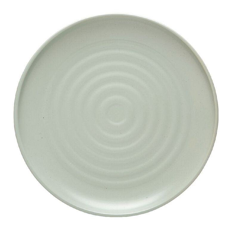 Living & Co Byron Dinner Plate Sage Green, , hi-res