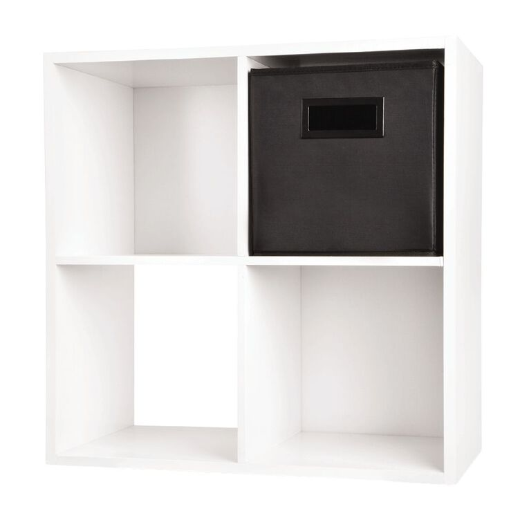 Living & Co Mason Cube Storage Insert Black, , hi-res