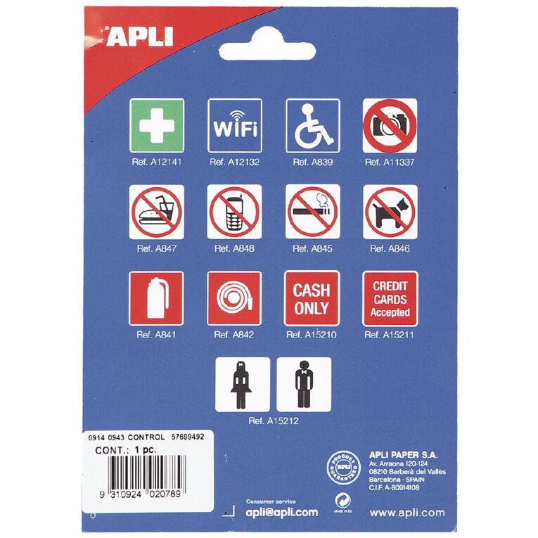 APLI Self Adhesive Sign Fire Hose, , hi-res