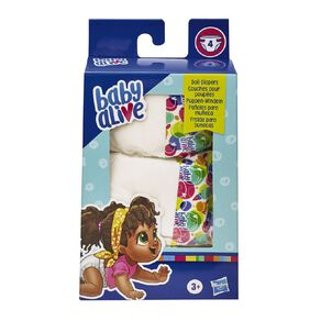 Baby Alive Diaper Pack