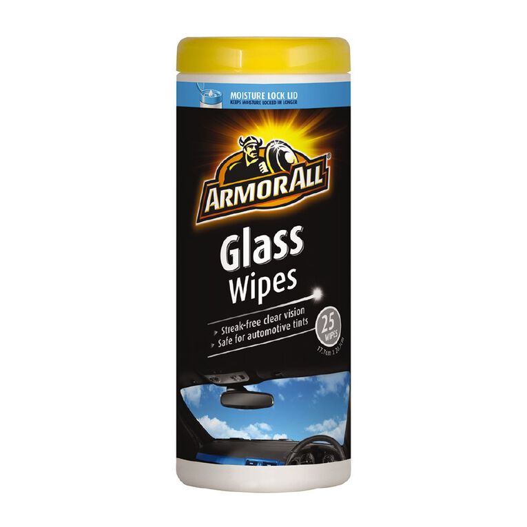 Armor All Glass Wipes 25 Pack, , hi-res