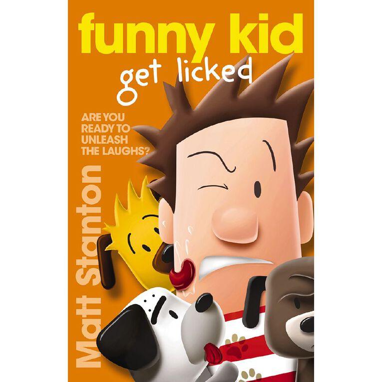 Funny Kid Get Licked by Matt Stanton, , hi-res