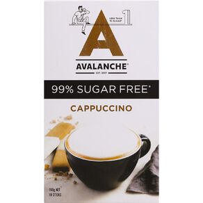 Avalanche 99% Sugar Free Cappuccino 10pk