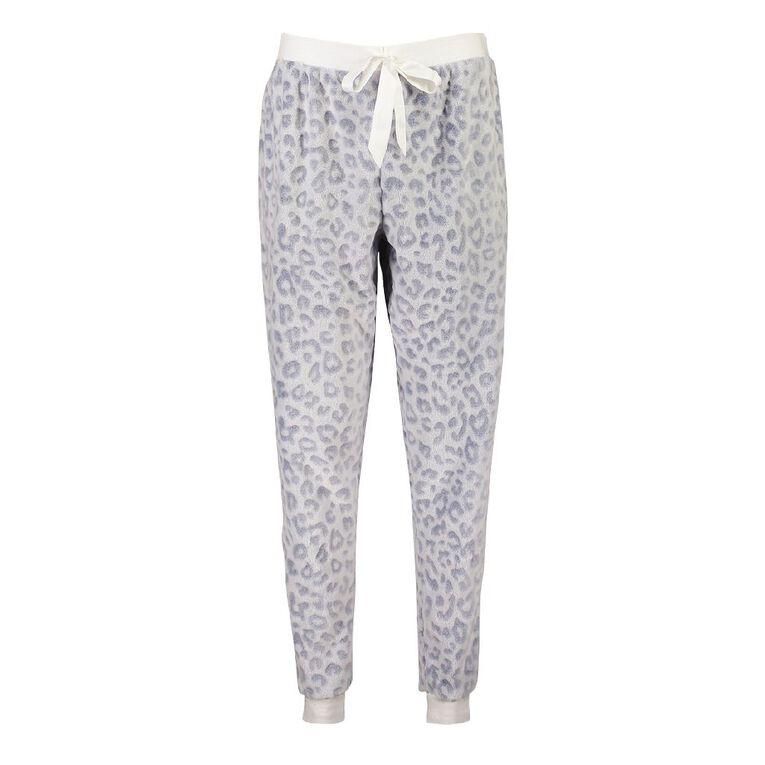 Love to Lounge Women's Leo Pyjama Pants, Blue, hi-res