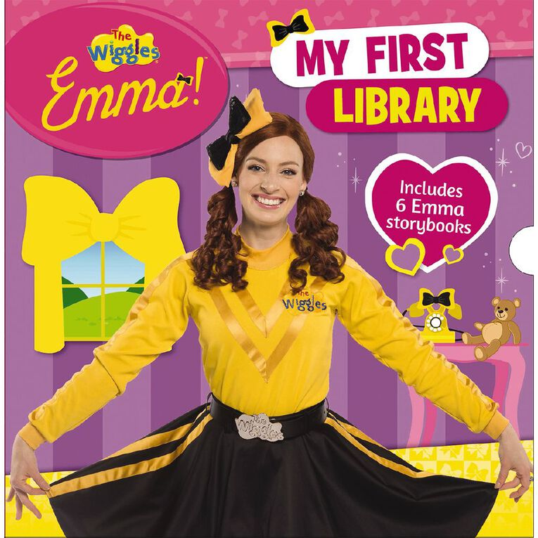 The Wiggles Emma!: My First Library by The Wiggles, , hi-res