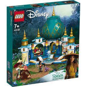 LEGO Disney Princess Raya and the Heart Palace 43181