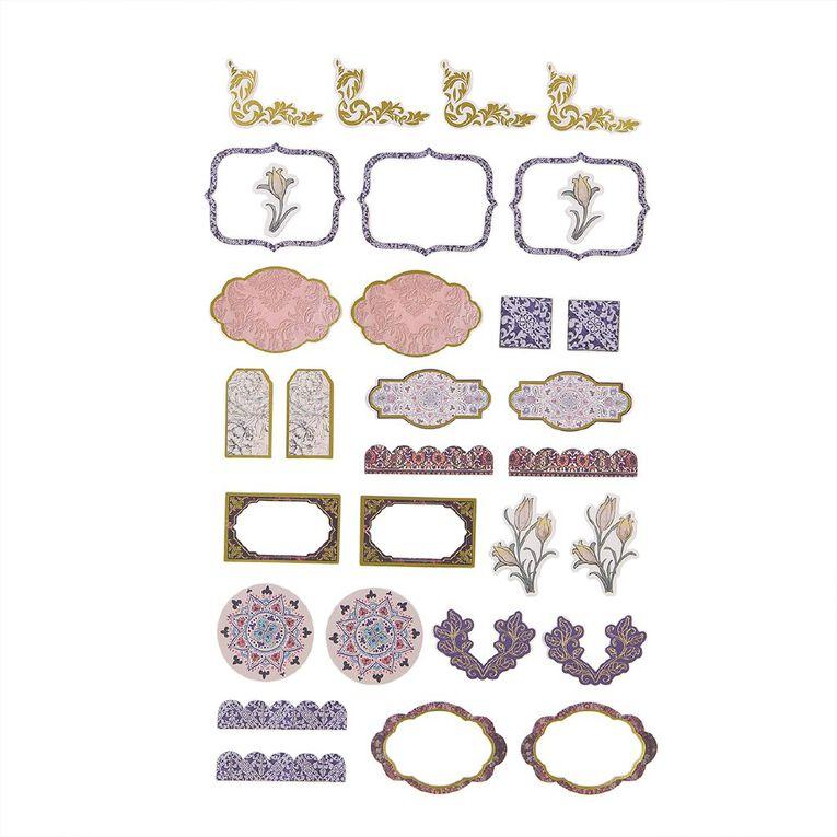 Uniti Heritage Cardstock Die Cut Shapes 30 Pieces, , hi-res