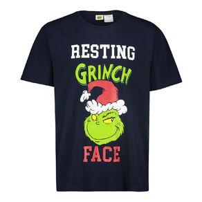 The Grinch Dr Seuss Men's Short Sleeves Tee