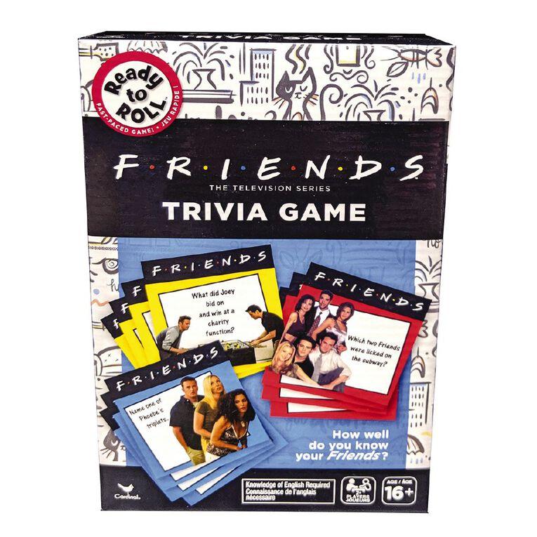 Cardinal Friends Trivia Game, , hi-res