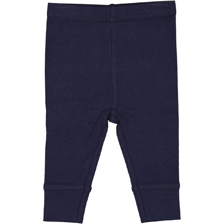 Young Original Infants' Plain Pants, Navy, hi-res