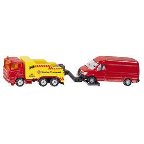 Siku Scania Heavy Tow Truck with Mercedes Van